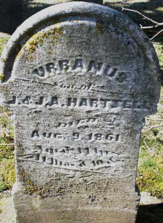 HARTZELL, URBANUS - Montgomery County, Ohio | URBANUS HARTZELL - Ohio Gravestone Photos