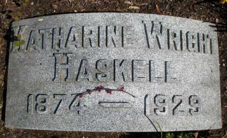 WRIGHT HASKELL, KATHARINE - Montgomery County, Ohio | KATHARINE WRIGHT HASKELL - Ohio Gravestone Photos