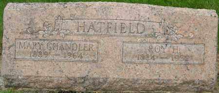 CHANDLER HATFIELD, MARY - Montgomery County, Ohio | MARY CHANDLER HATFIELD - Ohio Gravestone Photos