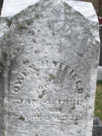 HATFIELD, OWEN - Montgomery County, Ohio | OWEN HATFIELD - Ohio Gravestone Photos