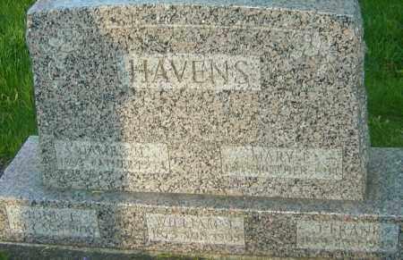 HAVENS, JOHN E - Montgomery County, Ohio | JOHN E HAVENS - Ohio Gravestone Photos
