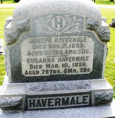 HAVERMALE, SUSANNA - Montgomery County, Ohio | SUSANNA HAVERMALE - Ohio Gravestone Photos