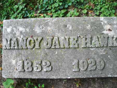 HAWK, NANCY JANE - Montgomery County, Ohio | NANCY JANE HAWK - Ohio Gravestone Photos