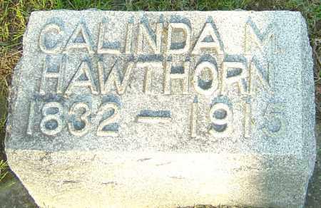 HAWTHORN, CALINDA M - Montgomery County, Ohio | CALINDA M HAWTHORN - Ohio Gravestone Photos