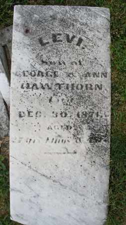 HAWTHORN, LEVI - Montgomery County, Ohio   LEVI HAWTHORN - Ohio Gravestone Photos