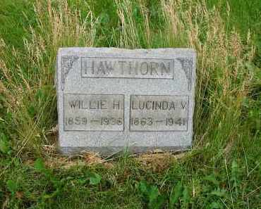 HAWTHORN, LUCINDA V. - Montgomery County, Ohio | LUCINDA V. HAWTHORN - Ohio Gravestone Photos