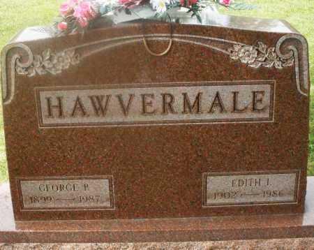 HAWVERMALE, EDITH I. - Montgomery County, Ohio | EDITH I. HAWVERMALE - Ohio Gravestone Photos