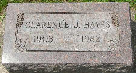 HAYES, CLARENCE J - Montgomery County, Ohio | CLARENCE J HAYES - Ohio Gravestone Photos