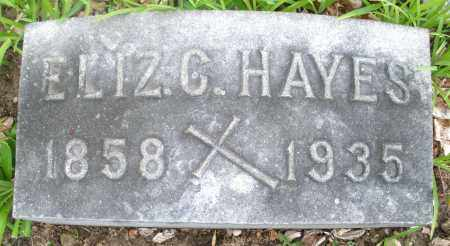 HAYES, ELIZABETH - Montgomery County, Ohio | ELIZABETH HAYES - Ohio Gravestone Photos