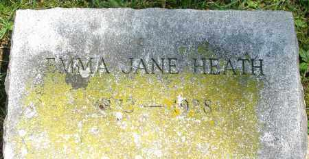 HEATH, EMMA JANE - Montgomery County, Ohio | EMMA JANE HEATH - Ohio Gravestone Photos