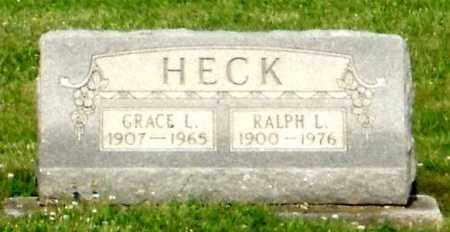 HECK, GRACE L. - Montgomery County, Ohio | GRACE L. HECK - Ohio Gravestone Photos