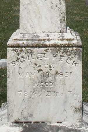 HECK, SAMUEL - Montgomery County, Ohio | SAMUEL HECK - Ohio Gravestone Photos