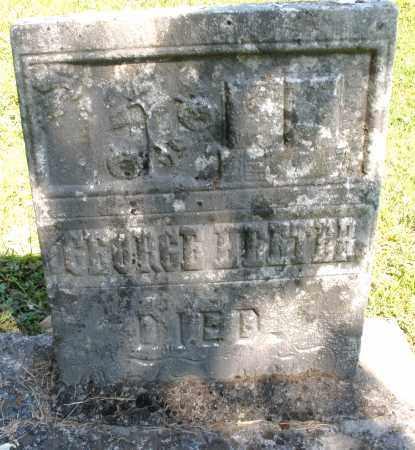 HEETER, GEORGE - Montgomery County, Ohio   GEORGE HEETER - Ohio Gravestone Photos