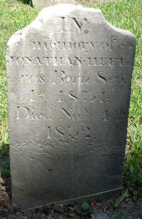 HEETER, JONATHAN - Montgomery County, Ohio | JONATHAN HEETER - Ohio Gravestone Photos