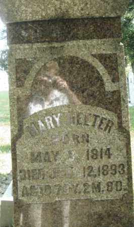HEETER, MARY - Montgomery County, Ohio | MARY HEETER - Ohio Gravestone Photos