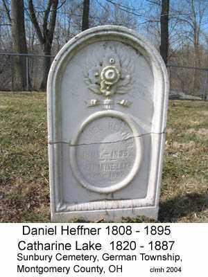 HEFFNER, DANIEL - Montgomery County, Ohio | DANIEL HEFFNER - Ohio Gravestone Photos