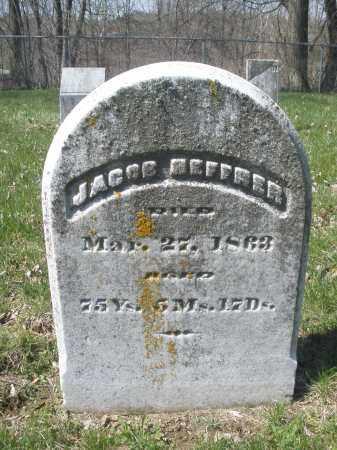 HEFFNER, JACOB - Montgomery County, Ohio | JACOB HEFFNER - Ohio Gravestone Photos