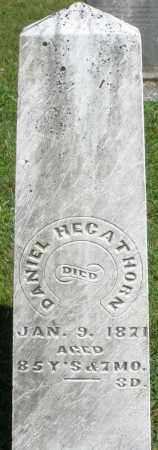 HEGATHORN, DANIEL - Montgomery County, Ohio   DANIEL HEGATHORN - Ohio Gravestone Photos