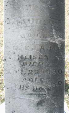 HEISEY, MAUDE E. - Montgomery County, Ohio | MAUDE E. HEISEY - Ohio Gravestone Photos