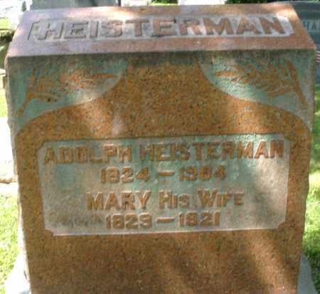 HEISTERMAN, MARY - Montgomery County, Ohio | MARY HEISTERMAN - Ohio Gravestone Photos