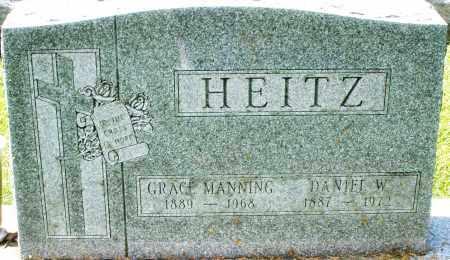 HEITZ, GRACE - Montgomery County, Ohio | GRACE HEITZ - Ohio Gravestone Photos