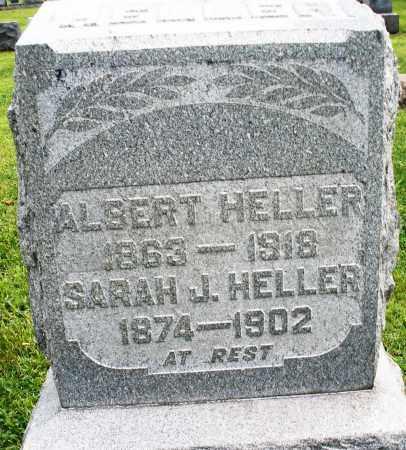 HELLER, ALBERT - Montgomery County, Ohio   ALBERT HELLER - Ohio Gravestone Photos