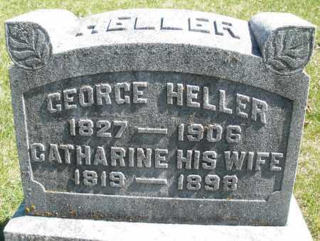 HELLER, GEORGE - Montgomery County, Ohio   GEORGE HELLER - Ohio Gravestone Photos
