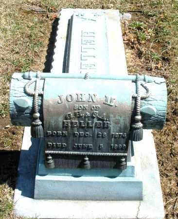 HELLER, JOHN M. - Montgomery County, Ohio   JOHN M. HELLER - Ohio Gravestone Photos