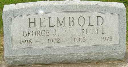 HELMBOLD, GEORGE J - Montgomery County, Ohio   GEORGE J HELMBOLD - Ohio Gravestone Photos