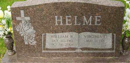 HELME, WILLIAM B - Montgomery County, Ohio   WILLIAM B HELME - Ohio Gravestone Photos