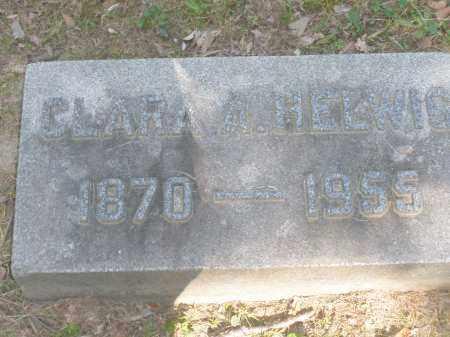 HELWIG, CLARA A. - Montgomery County, Ohio   CLARA A. HELWIG - Ohio Gravestone Photos