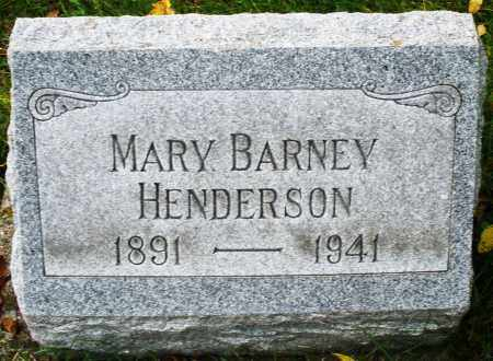 HENDERSON, MARY - Montgomery County, Ohio | MARY HENDERSON - Ohio Gravestone Photos