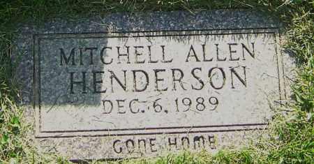 HENDERSON, MITCHELL ALLEN - Montgomery County, Ohio   MITCHELL ALLEN HENDERSON - Ohio Gravestone Photos