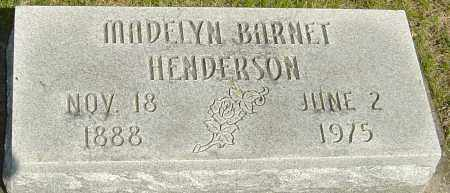 HENDERSON, MADELYN - Montgomery County, Ohio | MADELYN HENDERSON - Ohio Gravestone Photos