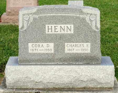 HENN, CHARLES E. - Montgomery County, Ohio | CHARLES E. HENN - Ohio Gravestone Photos