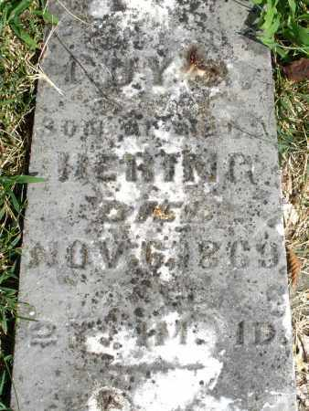 HERING, GUY - Montgomery County, Ohio | GUY HERING - Ohio Gravestone Photos
