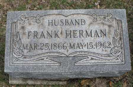 HERMAN, FRANK - Montgomery County, Ohio   FRANK HERMAN - Ohio Gravestone Photos
