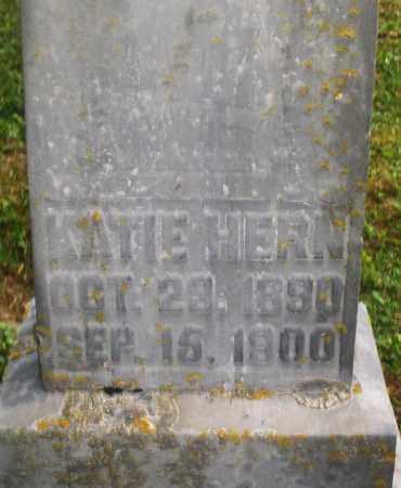 HERN, KATIE - Montgomery County, Ohio | KATIE HERN - Ohio Gravestone Photos