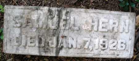 HERN, SAMUEL - Montgomery County, Ohio   SAMUEL HERN - Ohio Gravestone Photos