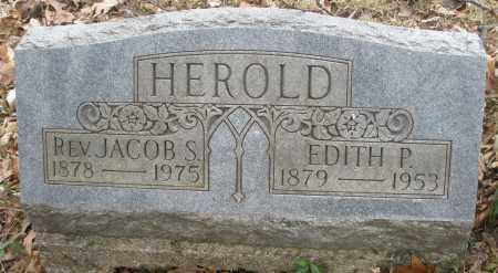 HEROLD, JACOB S., REV. - Montgomery County, Ohio | JACOB S., REV. HEROLD - Ohio Gravestone Photos