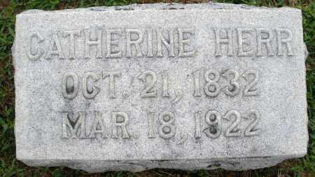 HERR, CATHERINE - Montgomery County, Ohio | CATHERINE HERR - Ohio Gravestone Photos