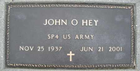 HEY, JOHN O. - Montgomery County, Ohio | JOHN O. HEY - Ohio Gravestone Photos