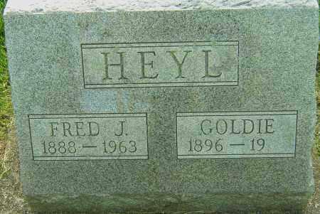 HEYL, FRED J - Montgomery County, Ohio | FRED J HEYL - Ohio Gravestone Photos