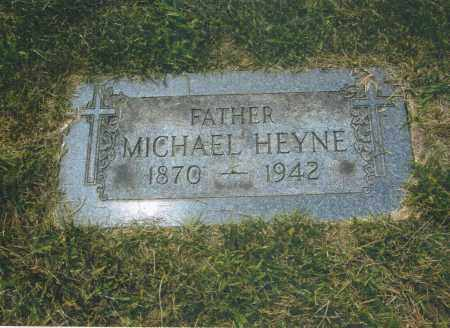 HEYNE, MICHAEL - Montgomery County, Ohio   MICHAEL HEYNE - Ohio Gravestone Photos