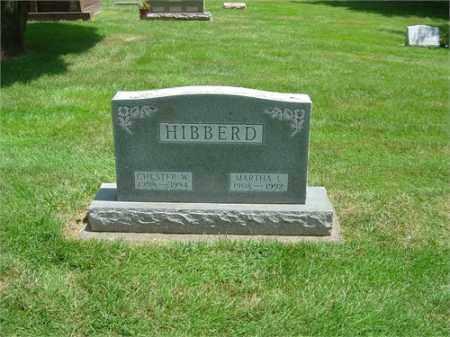 HIBBERD, CHESTER - Montgomery County, Ohio | CHESTER HIBBERD - Ohio Gravestone Photos