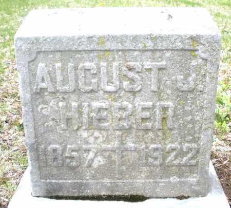 HIEBER, AUGUST J. - Montgomery County, Ohio | AUGUST J. HIEBER - Ohio Gravestone Photos