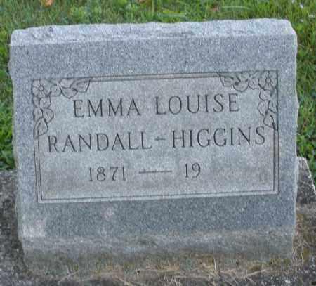 HIGGINS, EMMA LOUISE - Montgomery County, Ohio | EMMA LOUISE HIGGINS - Ohio Gravestone Photos