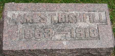 HIGHFILL, JAMES THOMAS - Montgomery County, Ohio   JAMES THOMAS HIGHFILL - Ohio Gravestone Photos