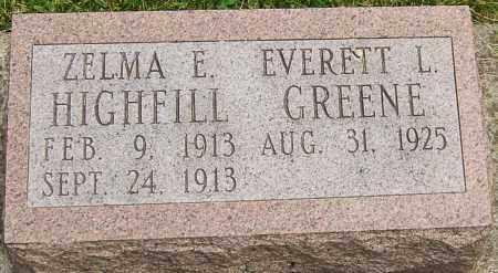 HIGHFILL, ZELMA E - Montgomery County, Ohio | ZELMA E HIGHFILL - Ohio Gravestone Photos