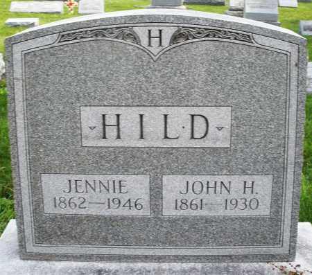 HILD, JOHN H. - Montgomery County, Ohio | JOHN H. HILD - Ohio Gravestone Photos